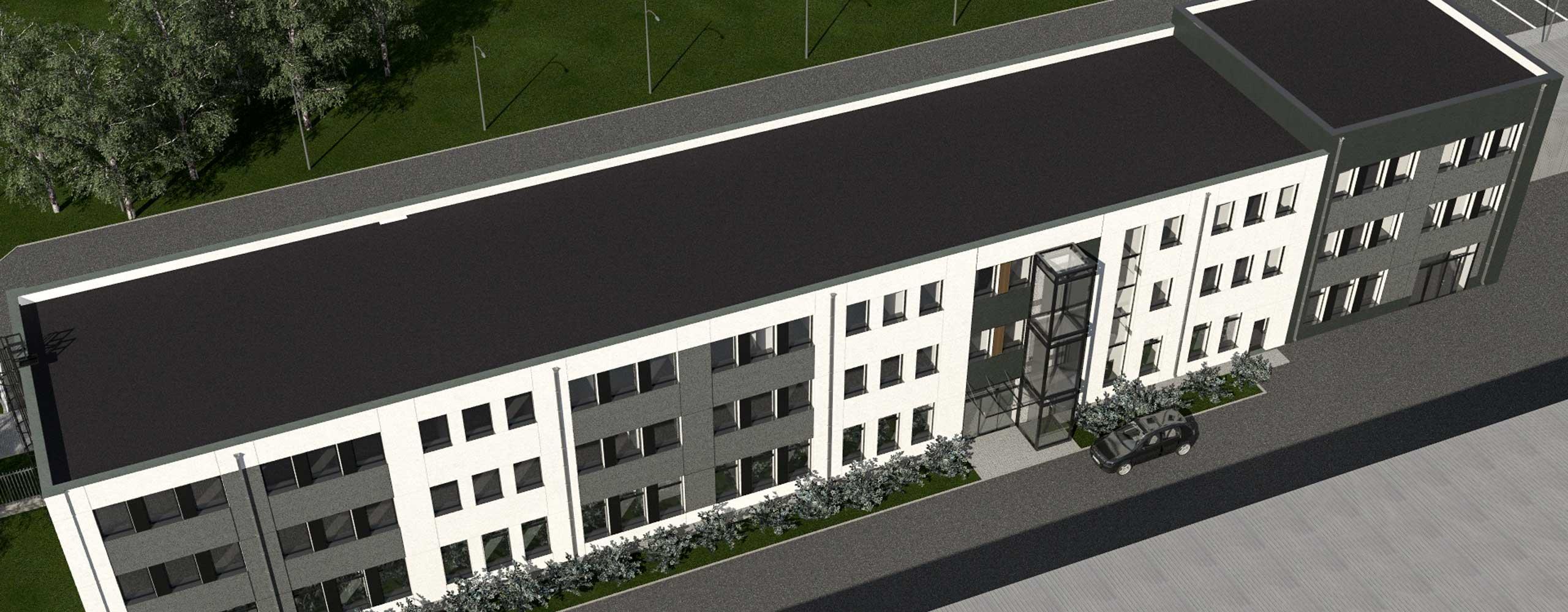 biuro o powierzchni 16,1 m<sup>2</sup> - Farbud Nieruchomości - Lublin